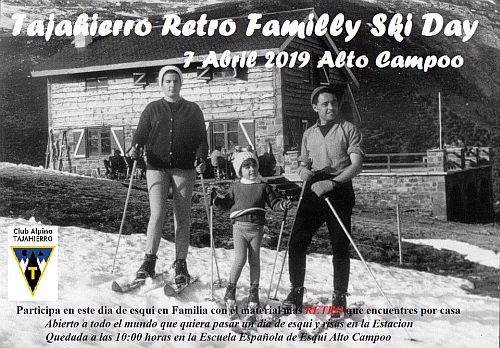 Tajahierro retro family ski day